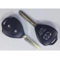 TOYOTA TOY43 корпус NEW model 2 кнопки (RAV 4)